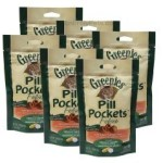 Greenies Salmon Pill Pockets for Cats 45 count/9.6 oz (pack of 6)