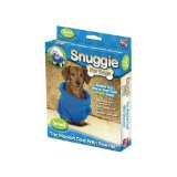 Snuggie for Dogs Blue Colored Fleece Blanket Coat with Sleeves - Small