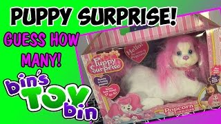 Puppy Surprise! How Many Puppies Will Popcorn Have? Review by Bin's Toy Bin