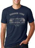 Camp Crystal Lake Summer 1980 T-Shirt Vintage Movie Tee 3XL