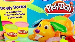 Play-Doh Doggy Doctor Puppy Playset Play Doctor with Puppies Play Dough by Unboxingsurpriseegg