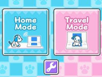 Mode selection screen from Wappydog