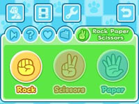 Mini-game screen from Wappydog