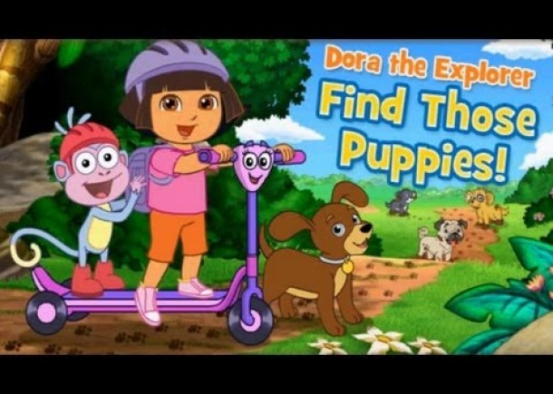Dora the explorer – Find those Puppies