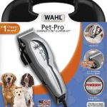 Wahl Pet-Pro Dog Grooming Clipper Kit, with superior fur feeding blades, professional type grooming at home #9281-210